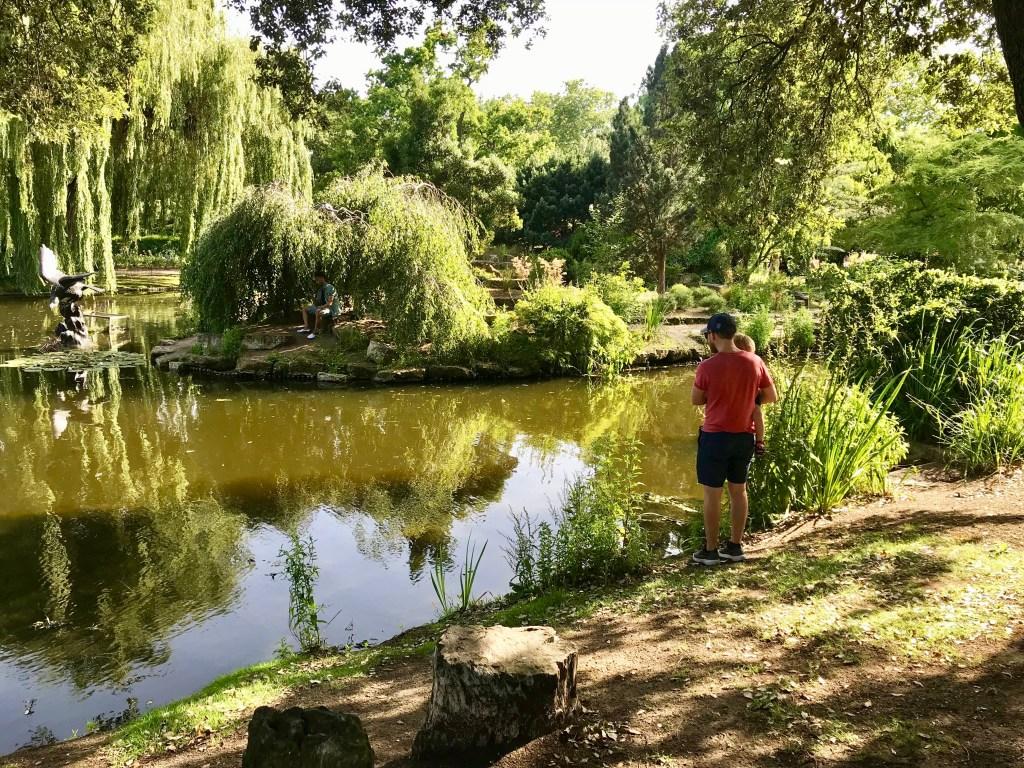 The Japanese Island Garden Regent's Park with Kids