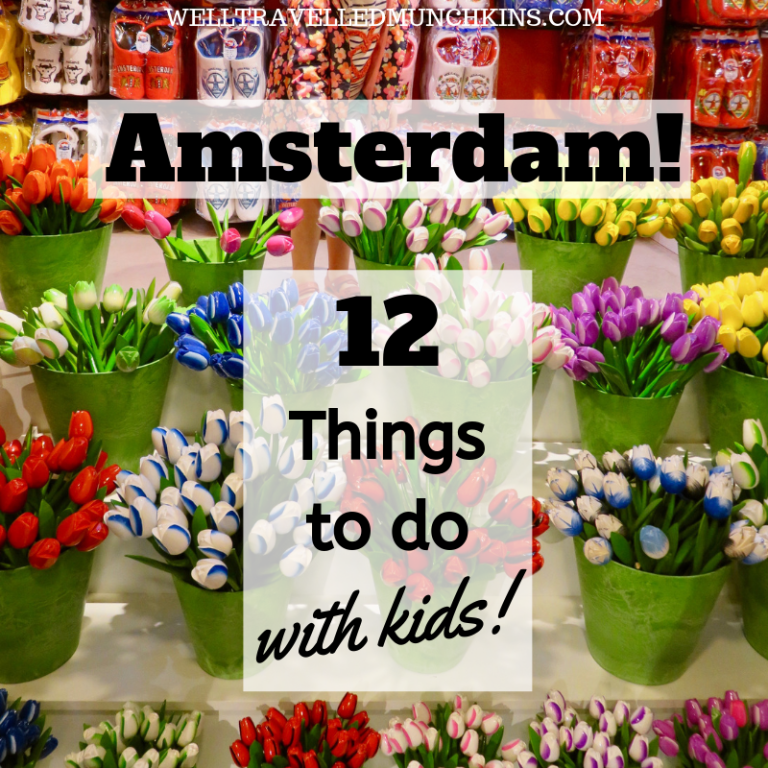 12 Things to do in Amsterdam with Kids