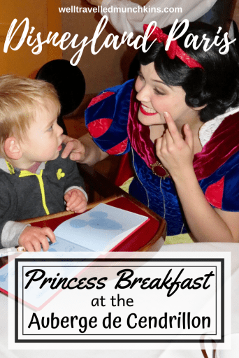 Take a closer look at the Princess Breakfast at Disneyland Paris
