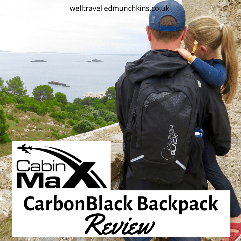 CarbonBlack Sports Backpack from Cabin Max