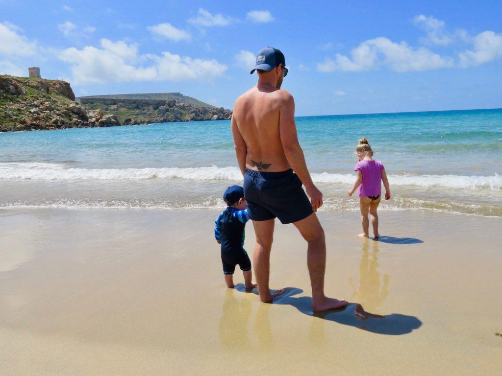 Golden Bay Malta with Kids