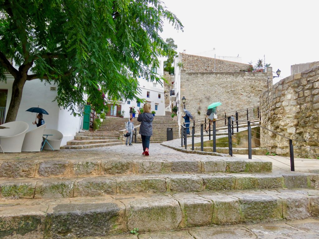Dalt Vila - Ibiza with kids