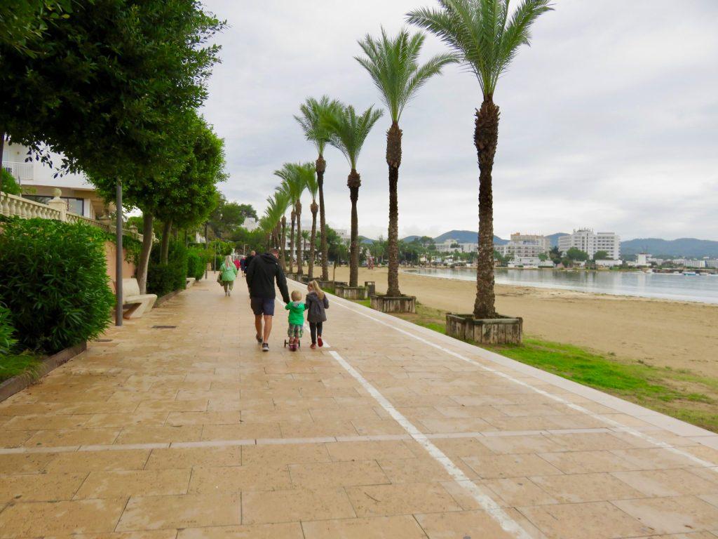 San Antonio - Ibiza with kids