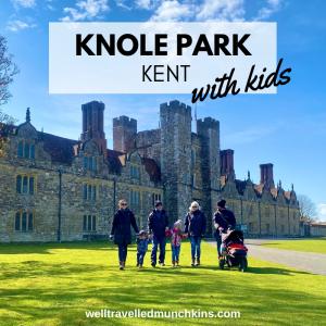 Knole Park in Sevenoaks with Kids