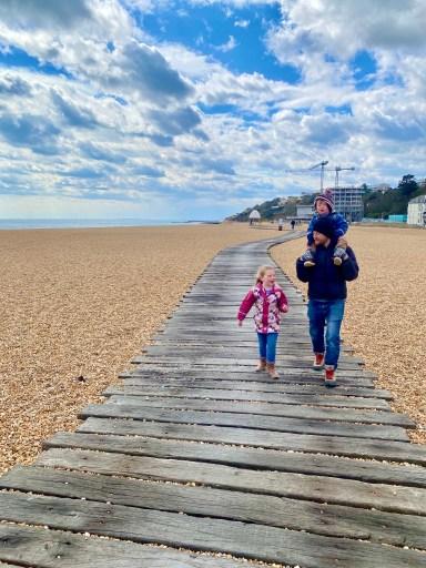 Things to do in Folkestone - beach boardwalk