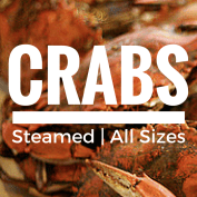 Crabs at the River Shack in Charlestown, Maryland