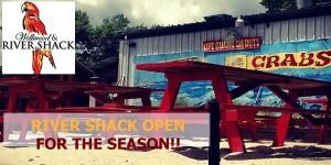River Shack Open for the Season