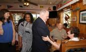 Larry Hogan Maryland Governor at the Wellwood Club Room