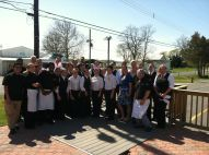 Staff at The Wellwood Restaurant in MD