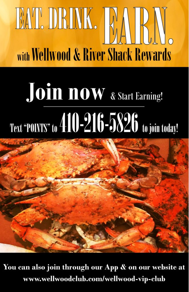 Eat Drink Earn Rewards at The Wellwood
