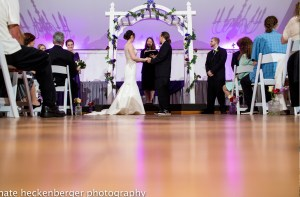 couple getting married Wellwood Pavillion Maryland