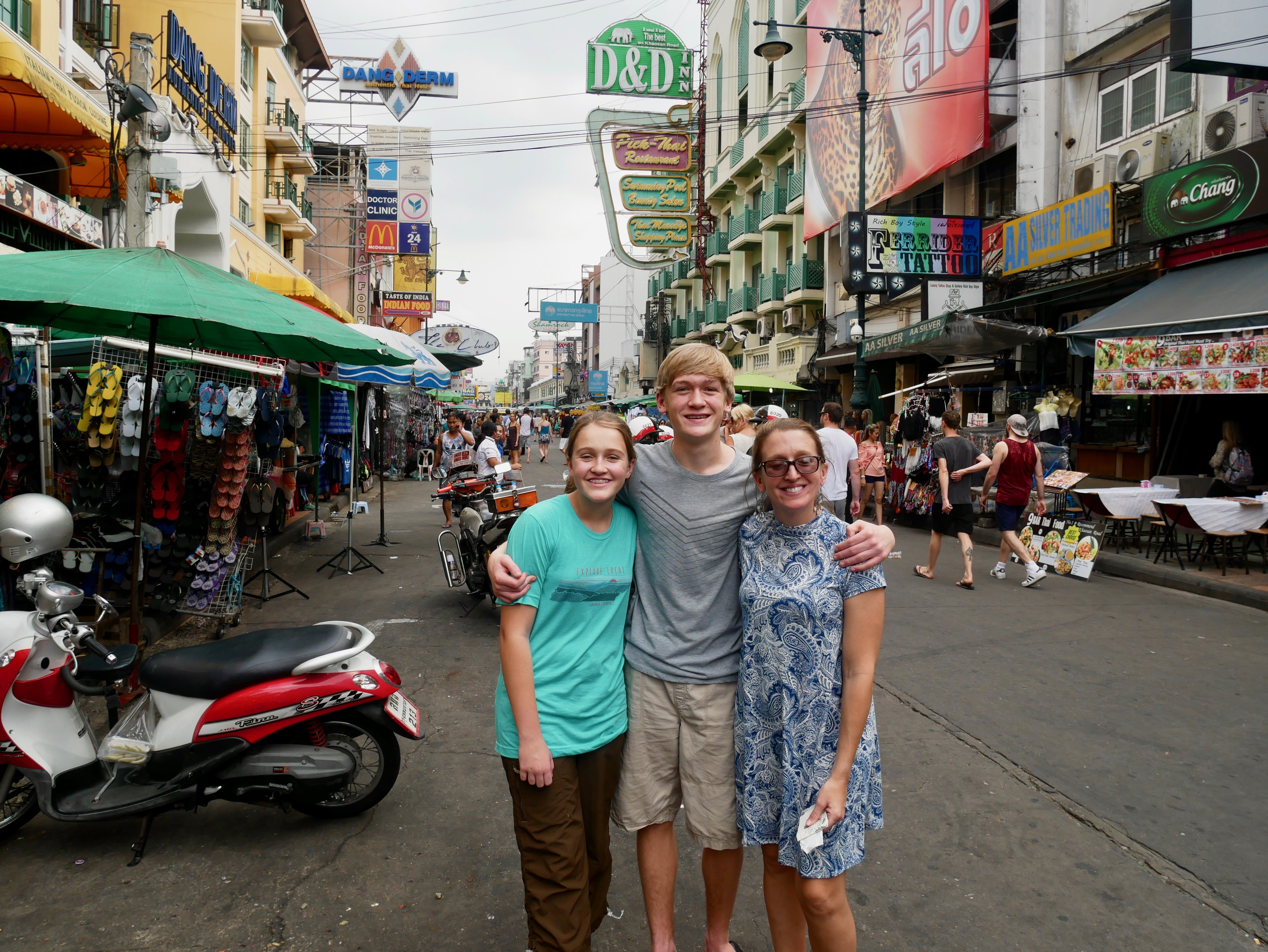 One Night in Bangkok and the World's Your Oyster