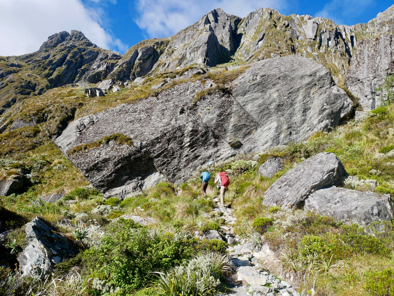 Tramping the Routeburn
