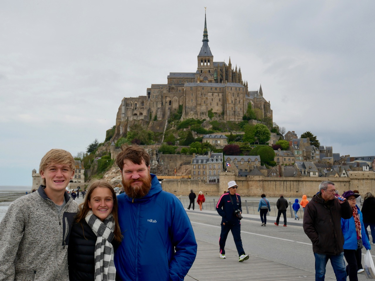 Mont St-Michel with Rick Steves