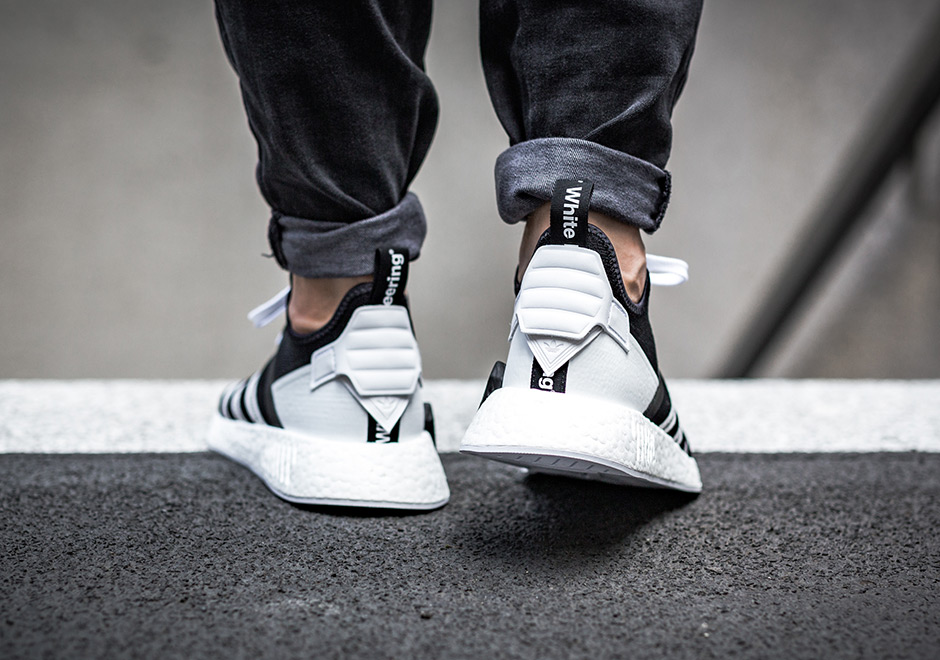 adidas Originals x White Mountaineering NMD R2 on feet 3