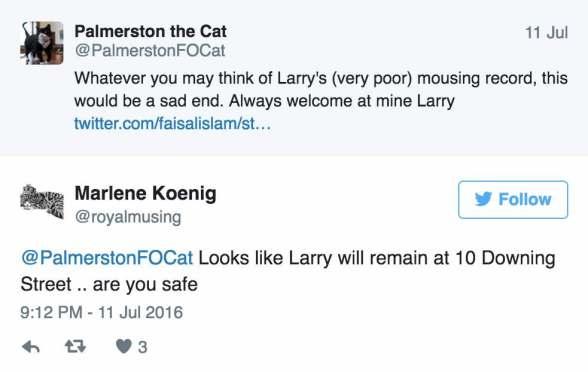 larry tweets