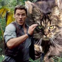 Replace Jurassic Park Dinosaurs With Cats And It's Hilarious
