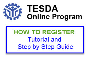 HOW TO GUIDE – Register and Enroll in TESDA Online Program