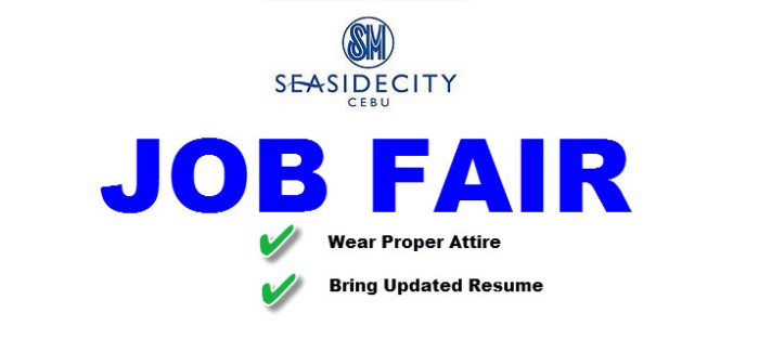 JOB FAIR for SM Seaside City Cebu – Lots of Open Positions