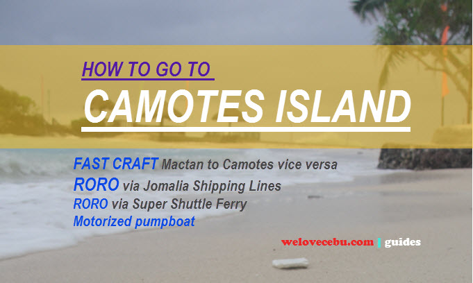camotes travel guide - how to commute