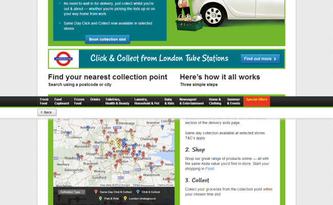 Asda Are First To Market With Same Day Click And