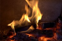 How a Gas Fireplace is Converted to a Wood Burning Unit ...