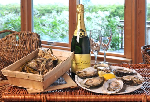 Oysters and Champagne - just a bit special!