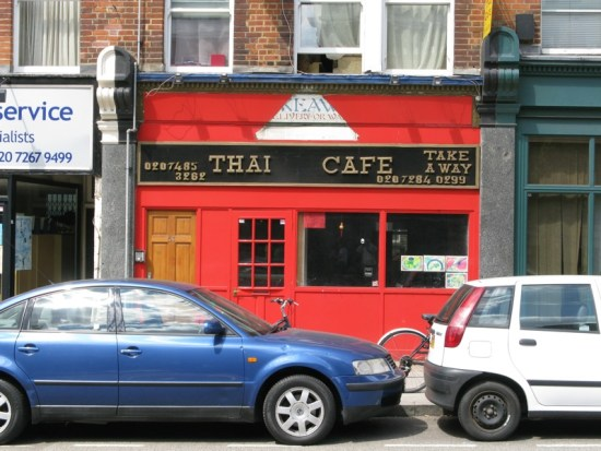 Thai Cafe on Fortess Road, Tufnell Park