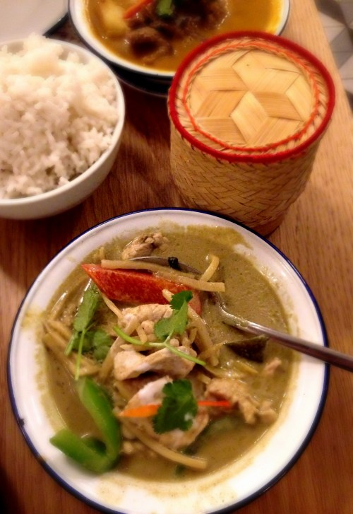 Rosas Thai Cafe | Carnaby Street | Green curry | We Love Food, It's All We Eat