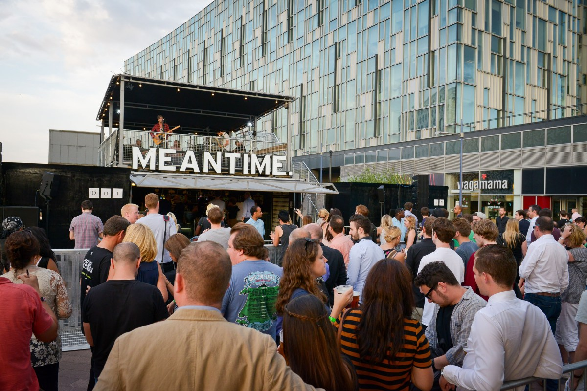 Meantime comes to The O2 | Meantime's BeerBox, The O2, Peninsula Square, Greenwich, London SE10 0DX