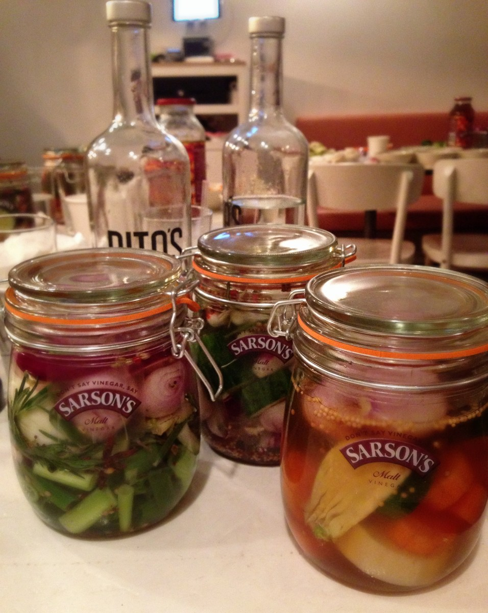 WELL POP ME IN A JAR AND CALL ME A PICKLE | SARSON'S PICKLING MASTER CLASS WITH PETER GINN & GABRIEL PRYCE