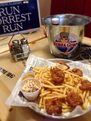 BUBBA GUMP LONDON | WE LOVE FOOD, IT'S ALL WE EAT