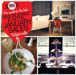 JANUARY SALES RESTAURANTS & HOTELS | WE LOVE FOOD, IT'S ALL WE EAT