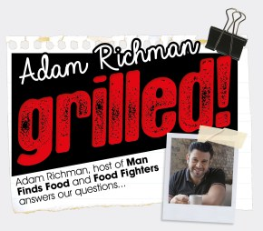 ADAM RICHMAN | GRILLED | WE LOVE FOOD, IT'S ALL WE EAT