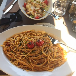 VILLEFRANCHE-SUR-MER | FRENCH RIVIERA | LES PALMIERS | SPAGHETTI |WE LOVE FOOD, IT'S ALL WE EAT