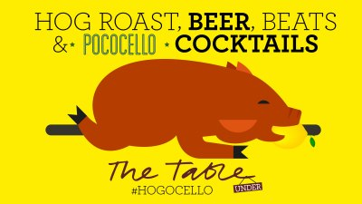 POCOCELLO | HOGOCELLO | THE TABLE CAFE | CANTINA DEL PONTE | WE LOVE FOOD, IT'S ALL WE EAT