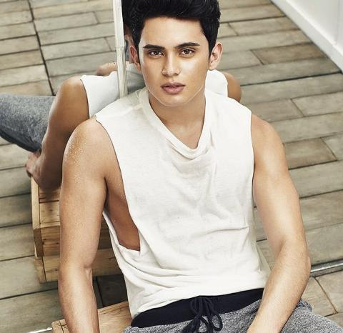 PHOTOS James Reid on Garage Magazine October 2014 Issue