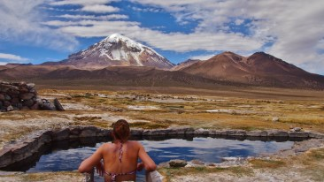 Relaxin in the stunning hot pools