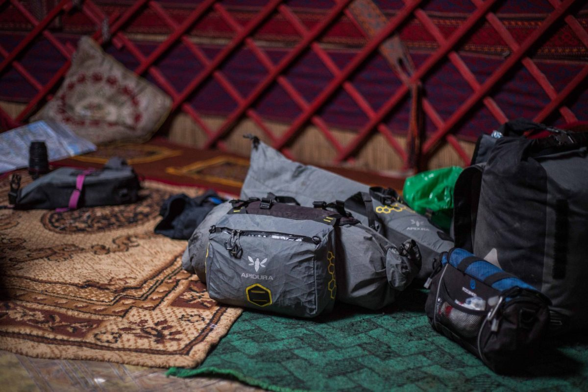 Apidura Bag Review and Full kit List Cycling the Pamirs