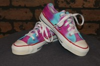 Really Cool Tie Dye Shoes
