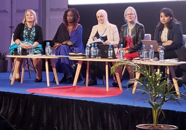 مشاركة د. رنا الدجاني في قمة نيروبي
