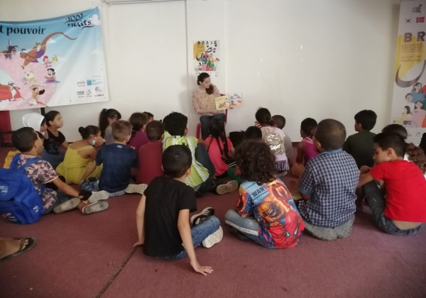 Dina Al-Maw'ed, We Love Reading Ambassador in Lebanon, Our Sessions are On-going!