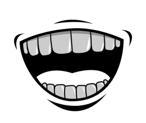 mouth teeth cartoon vector clipart clip easy welovesolo riddle visual clean eps freedesignfile file library