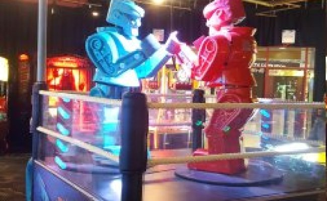 Dave Buster S Arcade In Philadelphia Pennsylvania