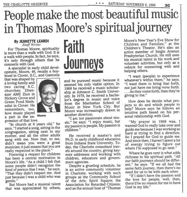 The Charlotte Observer, Nov. 9, 1996