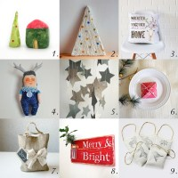 9 beautiful handmade decorations for Christmas | We Are Unique