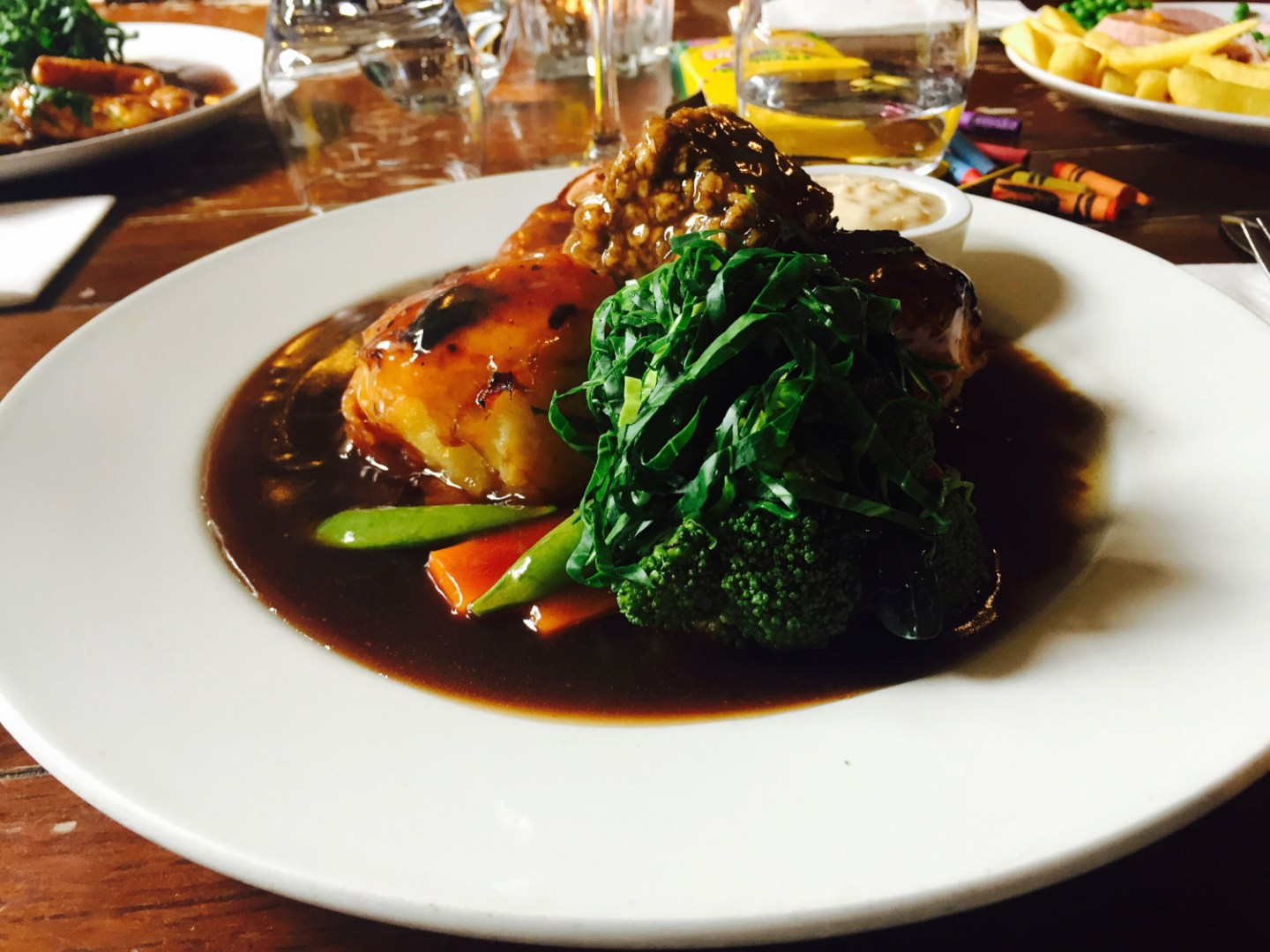 The Bush Inn roast beef