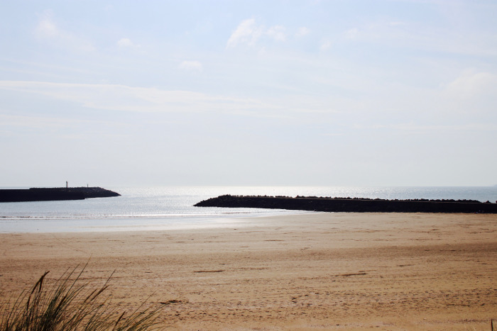 Aberavon Beach sea view