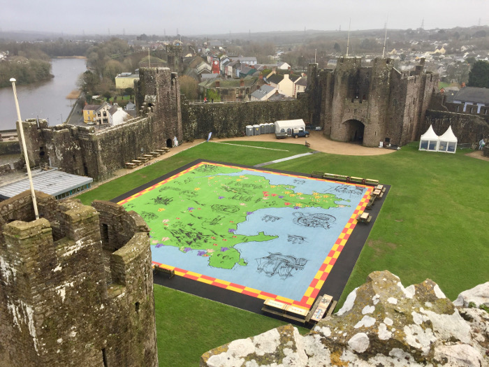 Pembroke Castle Things to do in Wales