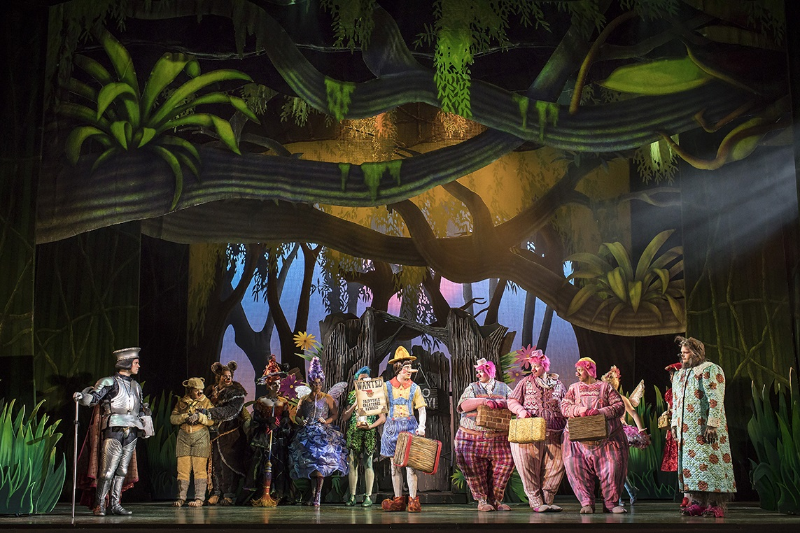 review Shrek The Musical UK Tour WMC